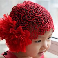 Wholesale Hot Newborn Baby Kid Girl Elastic Flower Headband Hairband Hair Accessories order lt no tracking