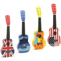 acoustic guitars kids - 21 quot Mini Childrens Kids Wooden Acoustic Guitar musical instrument Child Toy Gift