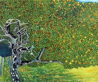 apple reproduction - Gustav Klimt s oil painting for pub Golden Apple Tree Luxury Line buy high quality reproduction