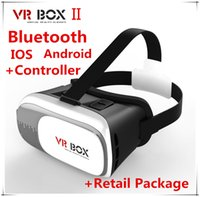 android phone game controller - DHL Google Cardboard VR BOX II Virtual Reality D Glasses Game Movie with Controller for iPhone Samsung Mobile Phone