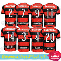 soccer jerseys uniforms - Camisa flamengo jersey Chandal Flamengo Jersey Brasil Flemish Away ZICO ELANO HERNANE Soccer Jerseys sports nd Uniform shirts
