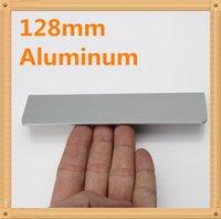 aluminum door pulls - 5pcs Length mm Hole C C mm quot Aluminum alloy handle Straight bevel modern handle Kitchen door handles drawer pull