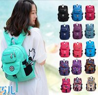 Wholesale Design Waterproof Nylon Backpacks Fashion Small Casual Women Backpack Korean Style Men s travel Bags