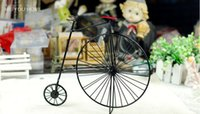 tin crafts - Nostalgic old bicycle Crafts Gift Tin pure handicraft ornament furnishing articles Autumn Style Hot Sale