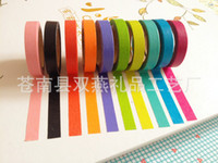 Wholesale Mouse over image to zoom Details about x Decorative Washi Rainbow Sticky Paper Masking Adhesive Tape Scrapbooking DIY