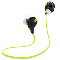 Wholesale QY7 Bluetooth Sport Headphone Wireless Bluetooth Earphone With Mic Bluetooth Sports Earbuds For iPhone s sPlus Samsung Galaxy S5 S6