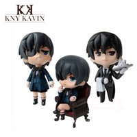 baby butler - 3pcs Anime Action Figure Japanese Hot Toys Master Charles cybus Butler PVC Action Figures Baby Kids Toys Model HT187500