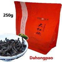 al por mayor ojo chino chino robe grande-250g Té chino superior de Dahongpao Té Wuyi Oolong Premium Da Hong Pao Té rojo grande de Oolong Té Wuyi Yan Cha Wuyi Té negro de Wulong del acantilado