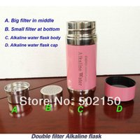 alkaline water for drinking - to USA Alkaline water cup with double filters good for health