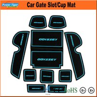 ats padding - Non slip Car Interior Door Gate Slot Pad Cup Mat Gate Slot Mat for Odyssey Cadillac SRX ATS XTS LEXUS ES