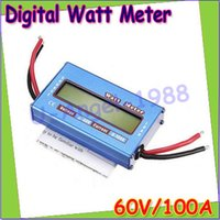 watt meter - emote Control Parts Accs RC Wattmeter Watt Meter Digital LCD V A DC Voltage Current Power Balancer Battery Analyze Checker Moni