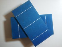 Wholesale 40pcs mm mm polycrystalline solar cell with tabbing wire busbar Flux pen diodes DIY solar panel solar cells