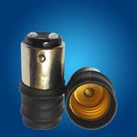 Wholesale Lamp Holder adapter Converters Base Converter BA15d B15D B15 to E14 for LED light LED bulbs and led spotlights