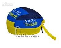 Wholesale 2013 SAXO BANK Cycling Headbands SAXO Tinkoff headband Cycling headband cycling hood New Saxo Tinkoff Cycling cap