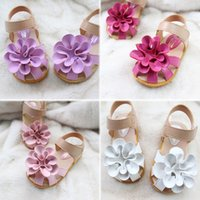 ankle strap sandles - Children Shoes Girls Sandals Flower Faux Leather Shoes Girls Cute Summer Style Sandles Baby Kids Beach Shoes Size VY0007 kevinstyle