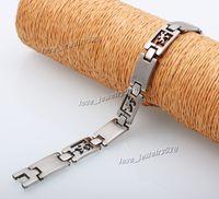 american lizard - Fashion Hot L Titanium Stainless Steel Cut Cool Animal Lizard Bracelet Bangle Men s Women s Jewelry quot