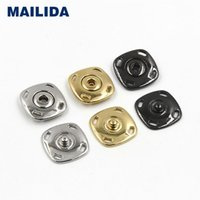 Wholesale MJ042 Square metal snap button press button high quality button