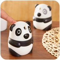 automatic coffee press - Novelty Cute Panda Automatic Toothpick Holder Fashion Hand Press Mini Box Coffee Bar Home Decoration