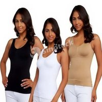 genie camishaper - Cami Shaper By Genie In Garment With Removable Pads Look Thinner Instantly the Ultimate Contour TOP Camishaper Opp Package DHL Factory