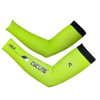 Wholesale 2015 Breathable Cycling Sport Armwarmer Summer UV MTB Bike Ciclismo Armwarmer Quick Dry Racing MTB Bicycle Cycle Green Armwarmer