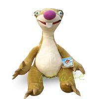 age birthday present - 23 cm ICE AGE III Sloth Sid Stuffed Animal SOft Plush TOYS Birthday Present Children Sloth Shid doll chirstmas gift LYH