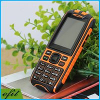 Wholesale X6 Professional Outdoor Dustproof Dual Band Dual Sim Function Car moblie Phone for Old Senior Elderly Car Mini Unlocked Mobile Cell Phone