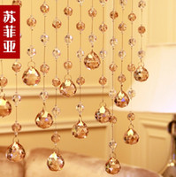 Wholesale meter length section of classical crystal bead curtain