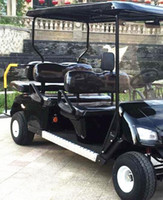 golf cart - electric tourist coach high quality six seats electric golf cart CE factory direct sale custom colors sightseeing car