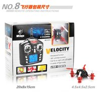 3d rc helicopter - Free Ship Newest Mini RC Quadcopter WLtoy Velocity V272 RC Helicopter CH GHz Control Nano Size RC Hexcopter Mini Drone D Rotatin