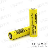 aa size battery - 4pcs AA size v rechargeable li ion battery mah a high discharge battery for vape mods
