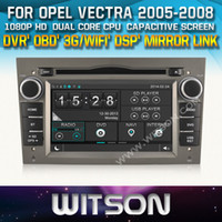 WITSON coches DVD auto del coche GPS para OPEL ASTRA ANTARA VECTRA CORSA ZAFIRA RADIO DAB / Espejo Enlace apoyaron + DSP Audio + REGALO