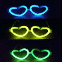 Wholesale Children Adult Eye Glasses Eyeglasses Glow Sticks for Family Party Christmas Birthday
