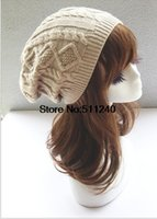 Wholesale Hot sale New Fashion Women colors Beanie hat winter knitted caps and hats for women