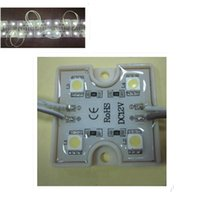 Wholesale High quality mm V SMD super bright LEDs RGB Waterproof LED Module Light Lamp Square Shape Light Lamp Strip