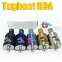 boat - Tugboat Mods atomizer RBA tug boat rebuildable atomizers clone vs lancia Hobo apo Plume veil erlkonigin stillare zenith Castle mephisto RDA