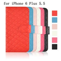 For Apple iPhone Leather White Luxury Brand New Wallet Leather Case For iPhone 6 4.7'' Plus 5.5'' iPhone6 4.7 6+ 5.5inch Soft PU Stand Cover Credit Card Cash Dollars Slot
