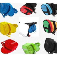 Wholesale New Arrival Easy Installation Outdoor Cycling Mountain Bike Bicycle Saddle Bag Colors Back Seat Tail Pouch