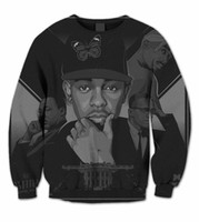 sublimation printing - Real USA Size Legends Tupac Kendrick Lamar Martin L King D Sublimation fleece Sweatshirt men women clothing print