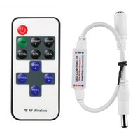 Wholesale Mini RF Wireless Led Remote Controller Led Dimmer Controller For Single Color Light Strip SMD5050 SMD3528