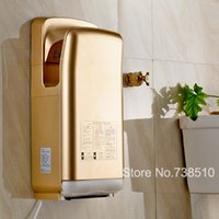 Wholesale 8 Color Brush Airblade Jet Hand Dryer Manufacturer supply Economic Automatic Hand Dryer Fast velocity m s automatic sensor