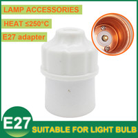 bakelite lamp holders - Hot E27 Light Lamp Holder Screw Type Sockets Adapter Converter Pendant Lamp Lighting Bulbs Holder Fitting LED Bulb CFL Induction Bakelite