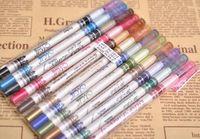 Wholesale 12pcs set Professional Makeup Gel Eyeliner Pencil colors Water Proof Long Lasting Natural Eye liner Pen Cosmetic Kits cosmetics pencils