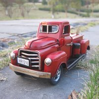 trucks for sale - Hot Sale New Arrived British Return To The Ancients Style Iron Car Truck workers hand made it three colors for you choice