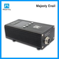 Wholesale Majesty Enail Kits Female Male Plug Enail For Oil Rig With Enail Quartz Nail Titanium Nail Temperature Degrees Fahrenheit