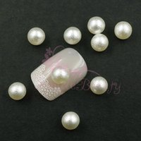 balls handcrafts - ails Tools Rhinestones Decorations mm Ivory No Hole Imitation Pearl Round Ball D Salon Acrylic UV Gel Nail Art Handcrafts