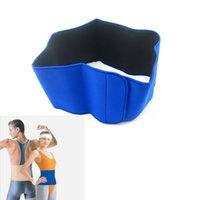 neoprene waist belt - Pain Relief Neoprene Waist Support Protector Belt Waist Brace Strap Band Blue H14518