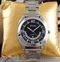 archer table - Eyki archer fashion male watch fashion table calendar mens watch steel strip casual male quartz watch