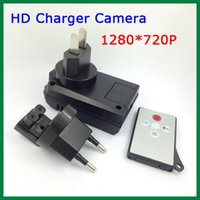 Wholesale HD P Charger Camera Night vision F188 Motion detection Support Recording While Charging With Remote Control