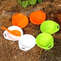 Wholesale Hot Camping Tableware Fire Maple Hiking Picnic Portable PP Outdoor Tableware Set Cooking Bowls Spoon