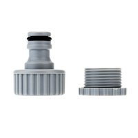 Wholesale ABS mm mm Water Hose Pipe Faucet Adapter Connector Fitting for Garden Laundry Accessories order lt no track